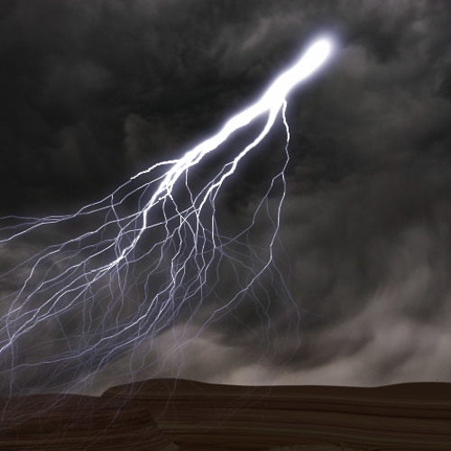Bruitage d'orage - grondement de tonnerre