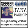 INTERVIEW: Jana Pochop - Singer/Songwriter, Manager Extradoridinaire