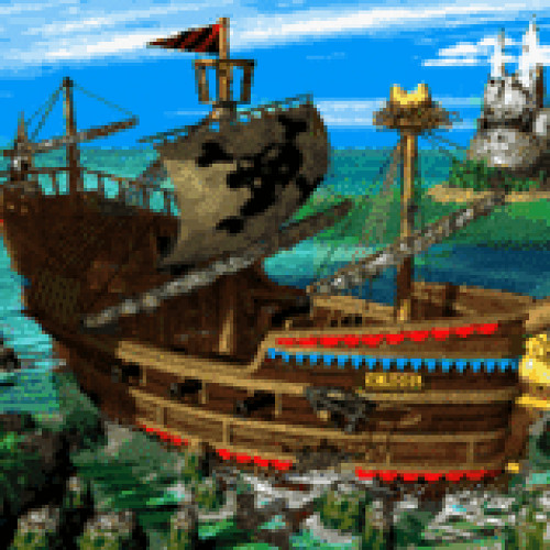 Aesop Rock vs Donkey Kong Country 2 - The Harbor is Yours/Gangplank Galleon