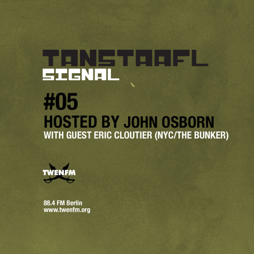 Eric Cloutier - Tanstaafl Signal Twen.FM Podcast 7.31.11