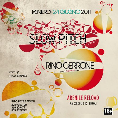 Rino Cerrone in Slow Pitch @ Arenile Pool 24062011 part. 2