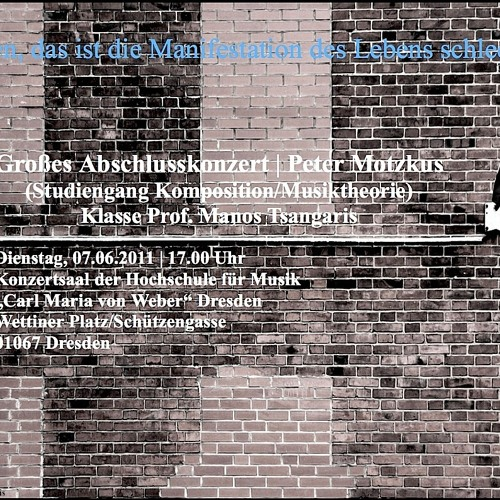ARIE AUF TÖNERNEN FÜSZEN (AUSZUG; T: Friederike Mayröcker)