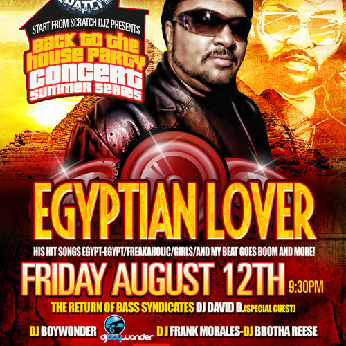 EGYPTIAN LOVER MIX - DJ BOYWONDER