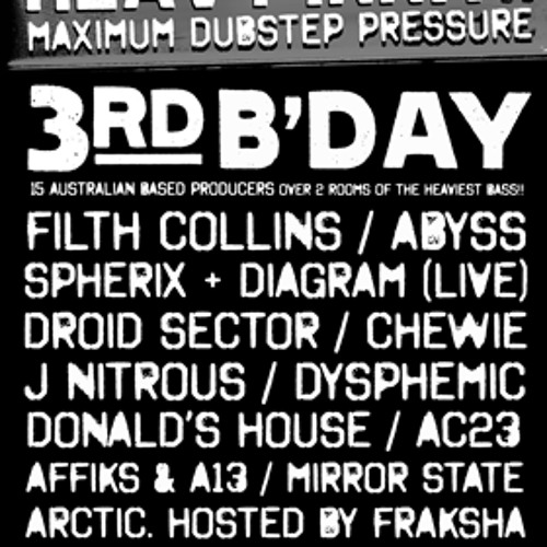 Heavy Innit Third Birthday Mix
