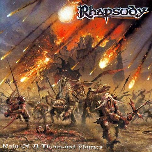 Rhapsody Of Fire - Rain of a Thousand Flames (keyboard solo)