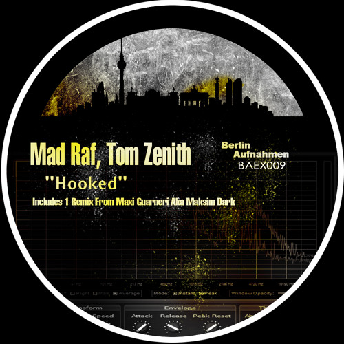 Mad Raf & Tom Zenith - Hooked (Original Mix)[Charted Top #03 On Beatport's Minimal Chart]