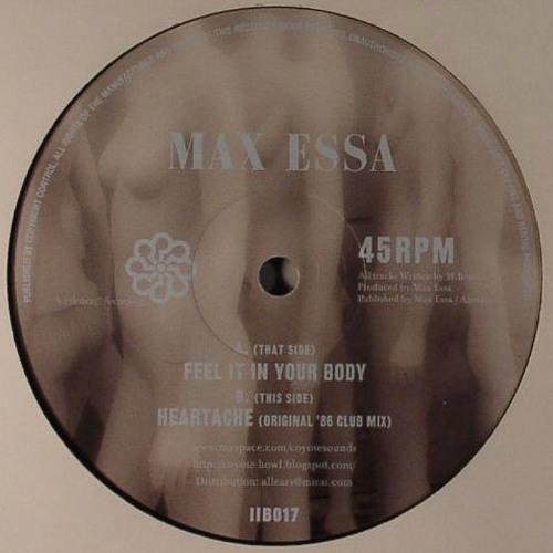 Max Essa Feel It In Your Body/Heartache (Original '86 Club Mix) Samples