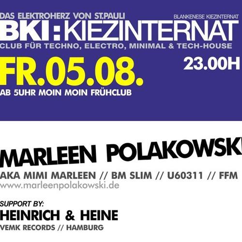 Marleen Polakowski | BKI, Hamburg | o5.o8.2o11
