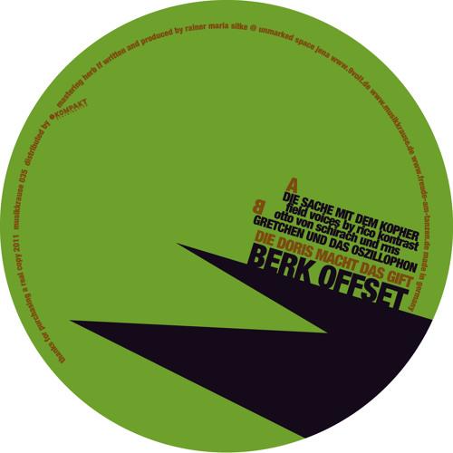 Berk Offset - Die Sache mit dem Kopher - MK035A