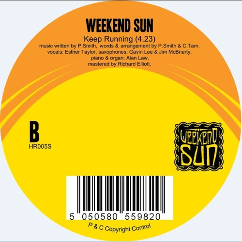 Weekend Sun - Keep Running