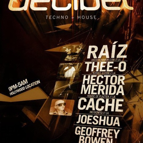 Tek LA Presents Weekly Mix 1.10 - Armand Kizirian ~The Decibel Sessions~