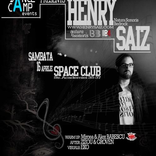Alex & Mircea Babescu warm-up for Henry Saiz @ Space (16 APR 2011)
