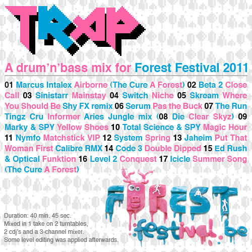 TRAP - Forest Festival promo mix