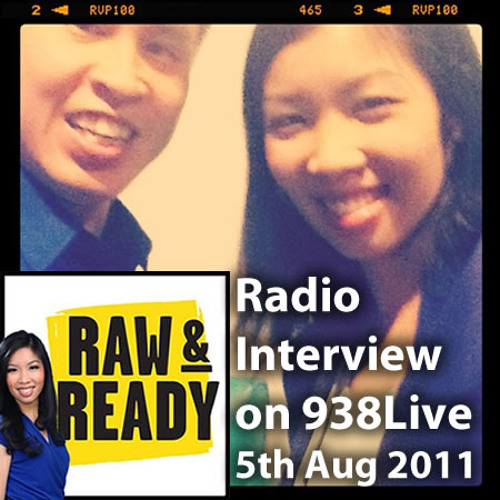 theorycast.66 :: On 938Live's Raw & Ready with Sarah Cheng