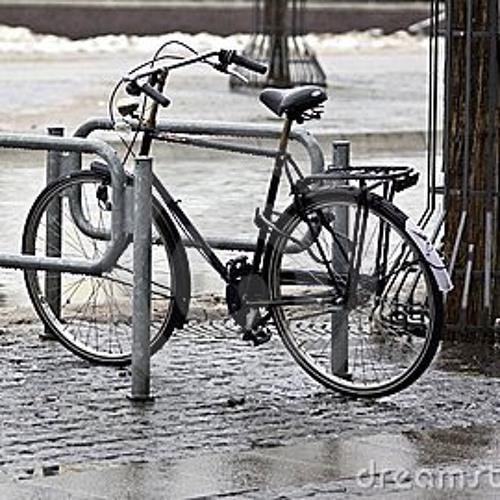 My bike is wet