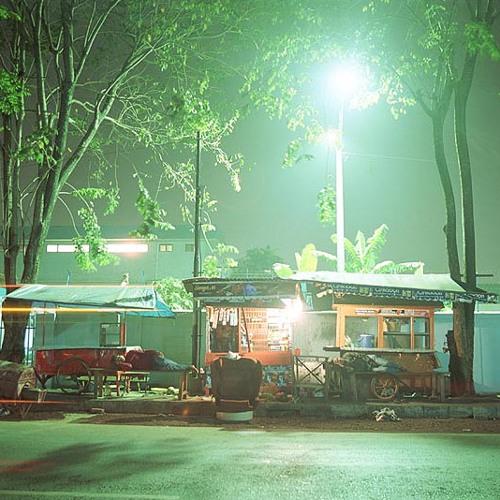 Sate seller in Jakarta