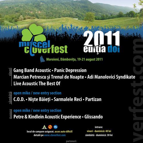 promo Muscel cLoverFest 2011