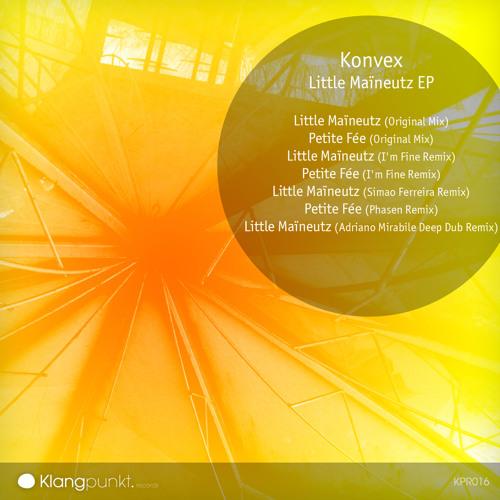 Out Now! - KPR016 - Konvex – Little Maïneutz (Original Mix)