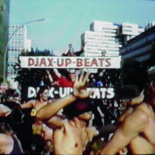 Miss Djax at Love Parade 1995