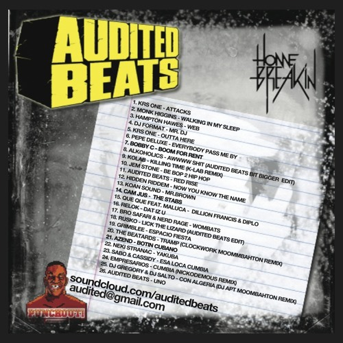 AUDITED BEATS - SHAMBHALA MIX 2011 - HOMEBREAKIN RECORDS