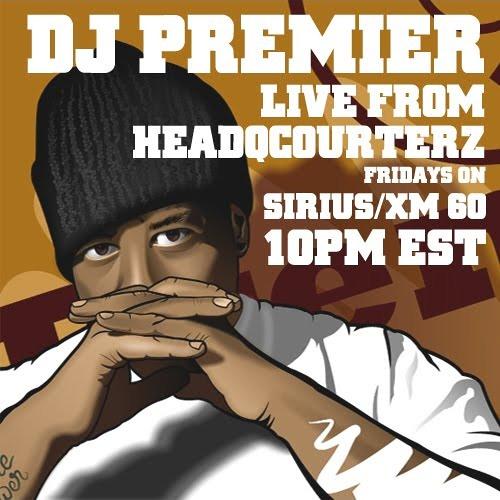 DJ Premier - Live From HQz [Cuttin up my remix of Nutso's Street Corner]