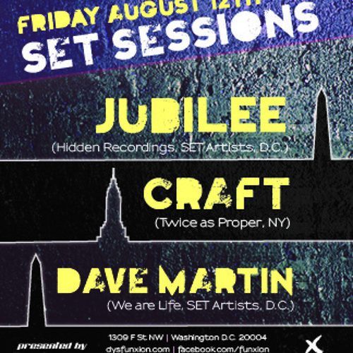 Craft live @ Funxion (Washington DC) closing set - Set Sessions - August 12th 2011