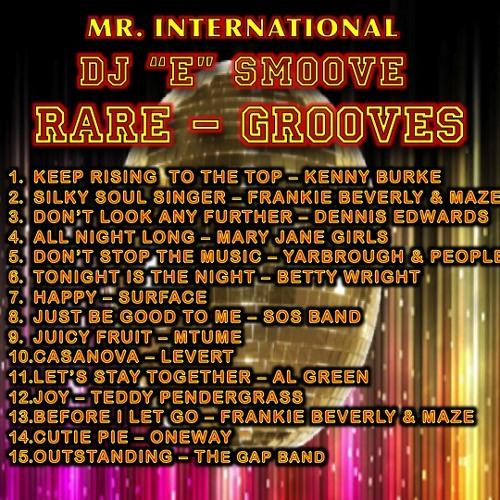 DJ E SMOOVE PRESENTS - RARE GROOVES