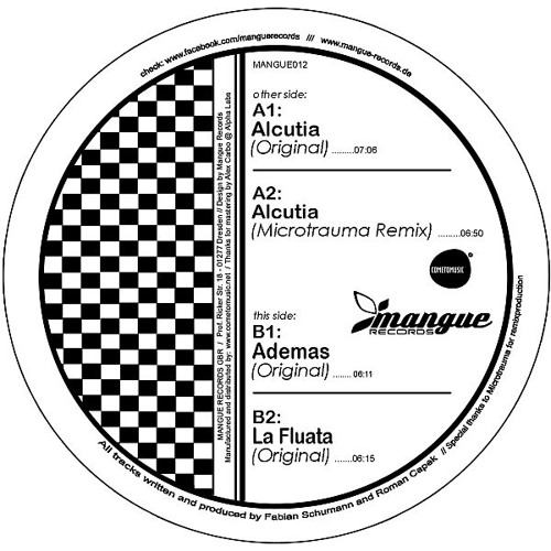 Fabian Schumann & Black Vel. - Alcutia (Microtrauma Remix) // Mangue Records