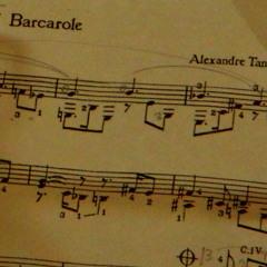 Barcarole (Alexandre Tansman)
