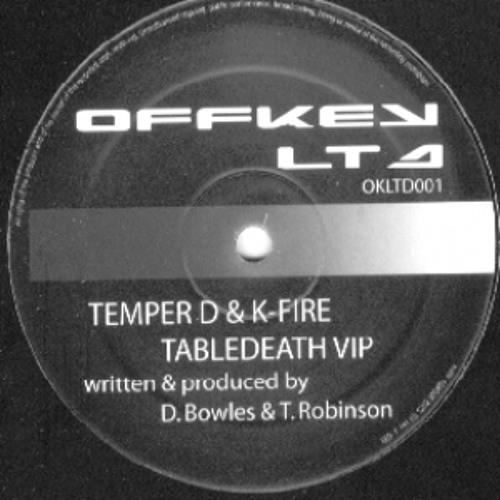 Temper D and K-Fire - Tabledeath VIP (Offkey Ltd)