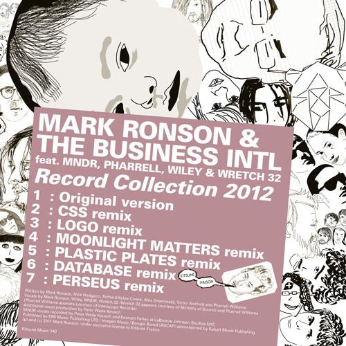 Mark Ronson - Record Collection 2012 (LOGO minimix)