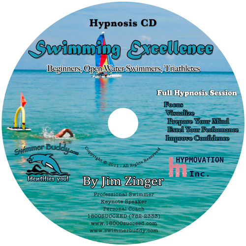 Swimming Excellence! - Hypnosis CD by Jim Zinger
