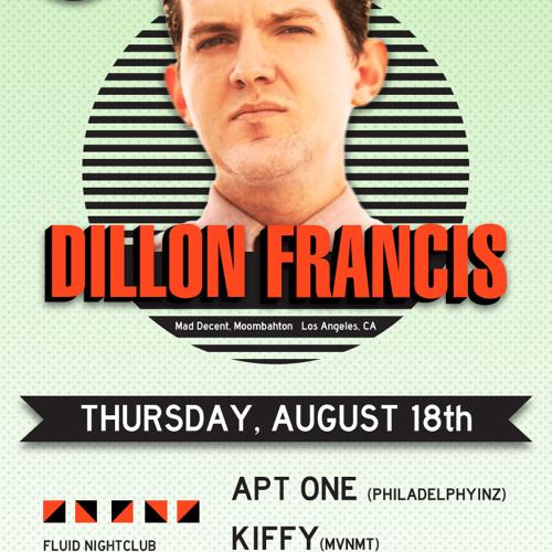 Dillon Francis 8-18-11 Fluid Nightclub Promo Mix
