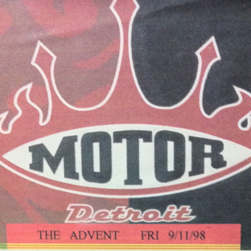 The Advent (Live at Motor - Detroit)