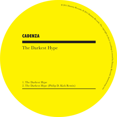 Cadenza 'The Darkest Hype' (single)