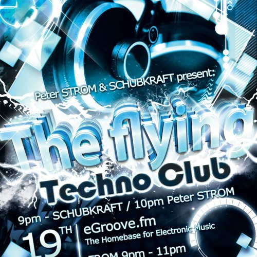 """Peter STROM in """"the flying techno club vol.3 extra dry"""" LIVE"""