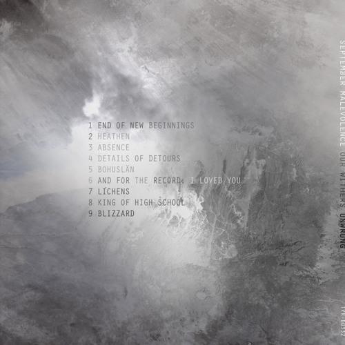 September Malevolence - End of new beginnings