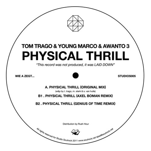 Awanto 3, Tom Trago, Young Marco - Physical Thrill (Axel Boman remix) - Studio Soulrock