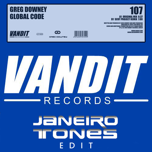 Greg Downey - Global Code ( janeiro Tones Edit )