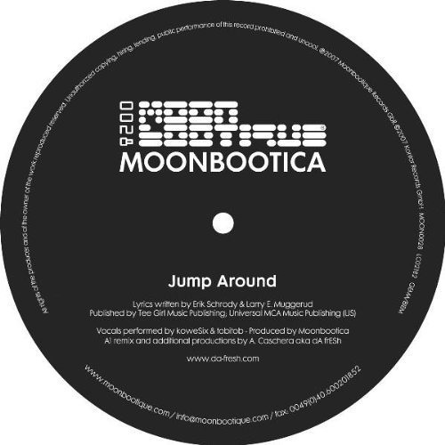 Moonbootica - Jump Around (Da Fresh rmx) (Moonbootique Records)