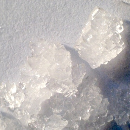 First recording using Rochelle Salt piezo crystal made from baking soda and  cream of tartar