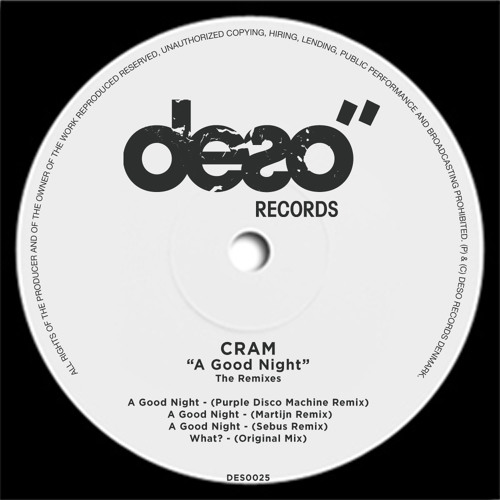 CRAM - A Good Night (SEBUS Remix) (Snippet)