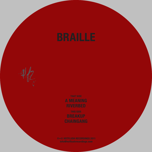 Braille - A Meaning EP (HFT017 Preview)