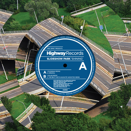 slideshow park - shining (solee remix - cut) / highway records