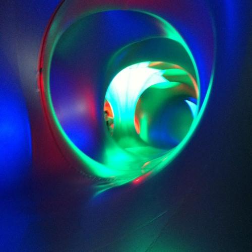 Inside Mirazozo Luminarium at Mirazozo #fringe