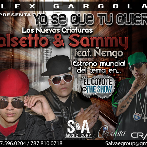 Falsetto & Sammy ft. Nengo Flow - Yo se Que tu Quieres (WWW.RONKADERA.COM)