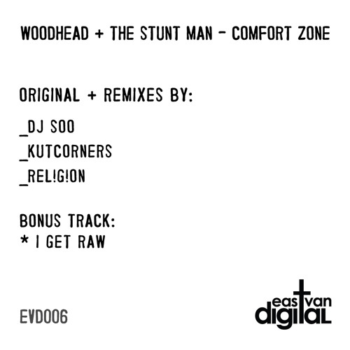 Woodhead & The Stunt Man - Comfort Zone (Rel!g!on & The Jjaaazzzz Are Dzzzztro!d Remix)
