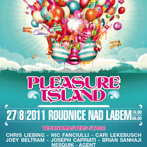 Junior Jan presents Pleasure Island CZ 2011 Promo Set /// Techno Masters Stage