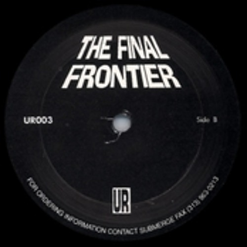 Underground Resistance - The Final Frontier