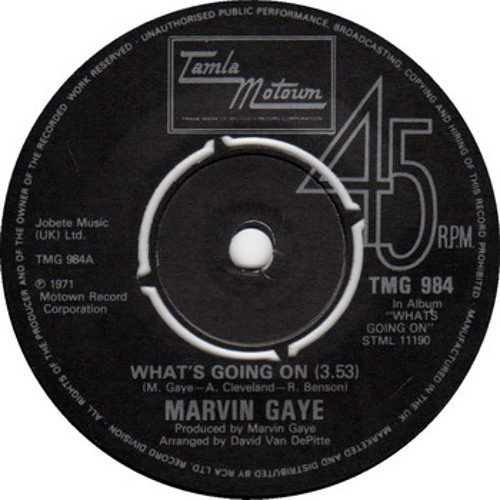 Marvin Gaye - What's Going On - TDs Less Is More RMX